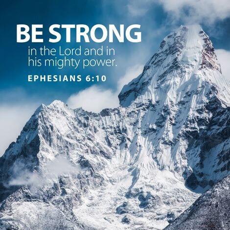Ephesians 6:10 NIV | Jorie's Wall of Word